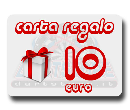 carta regalo freccette